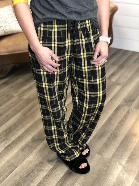 Plaid Lounge Pants *Final Sale*