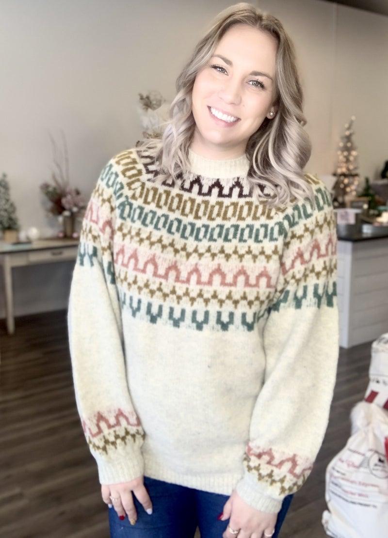 Muted Sunset Sweater
