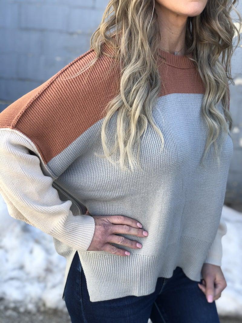 Taking It Easy Sweater