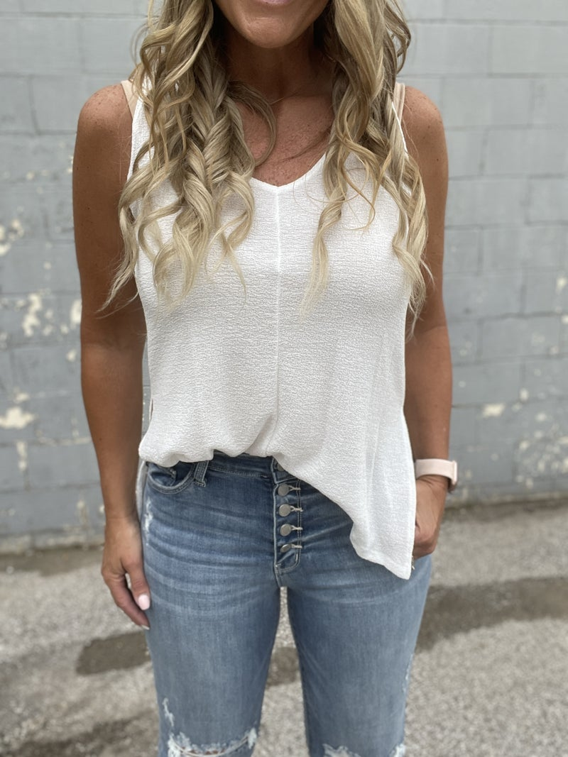 Sand In The Wind Tank Top