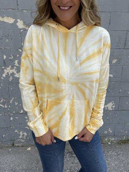 Golden Sunshine Swirly Hoodie
