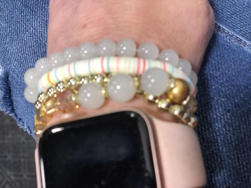 Vanilla Swirl Bracelet Set