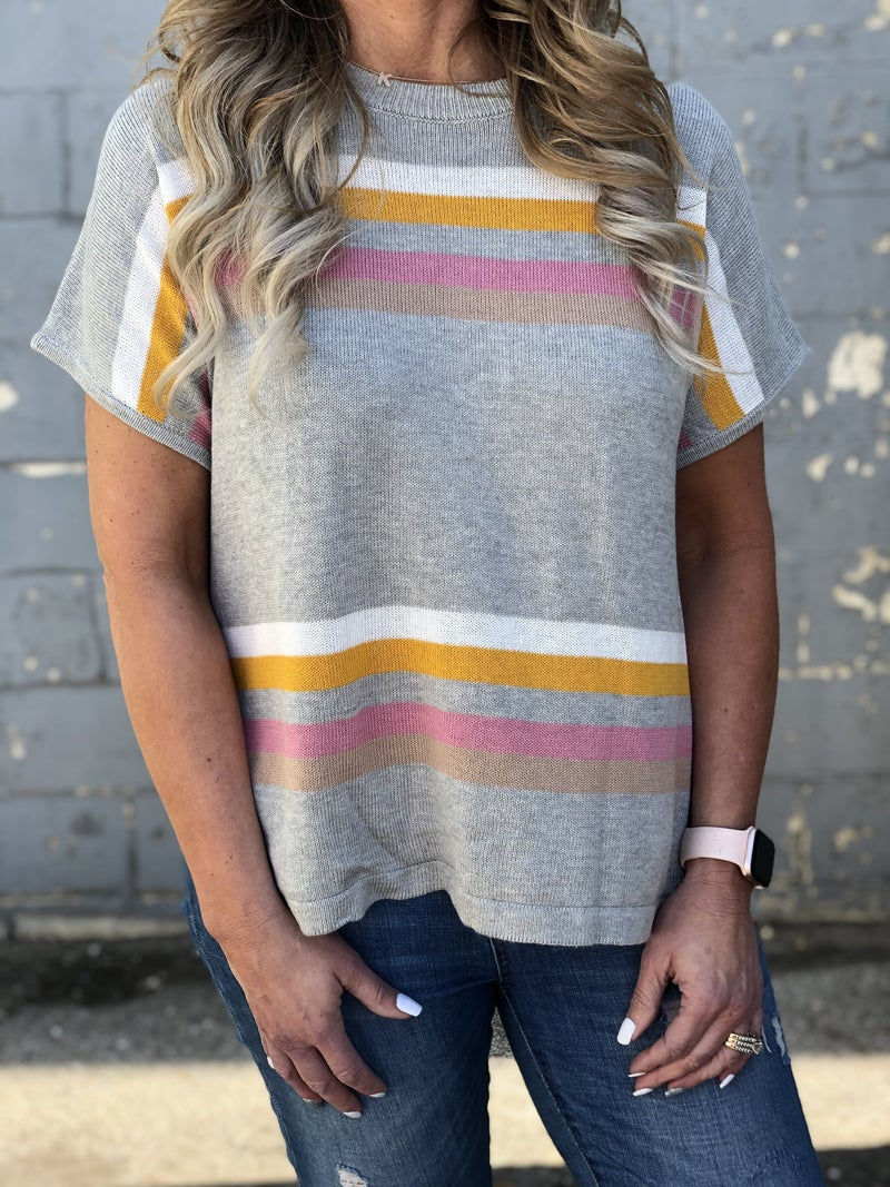 Stripes For Fun Top