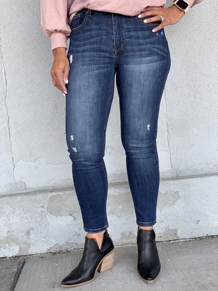 Risen Randi Dark Skinny Jean 31