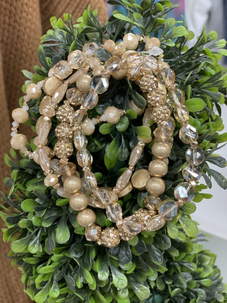 RL Goldenglow Stackables Bracelet Set