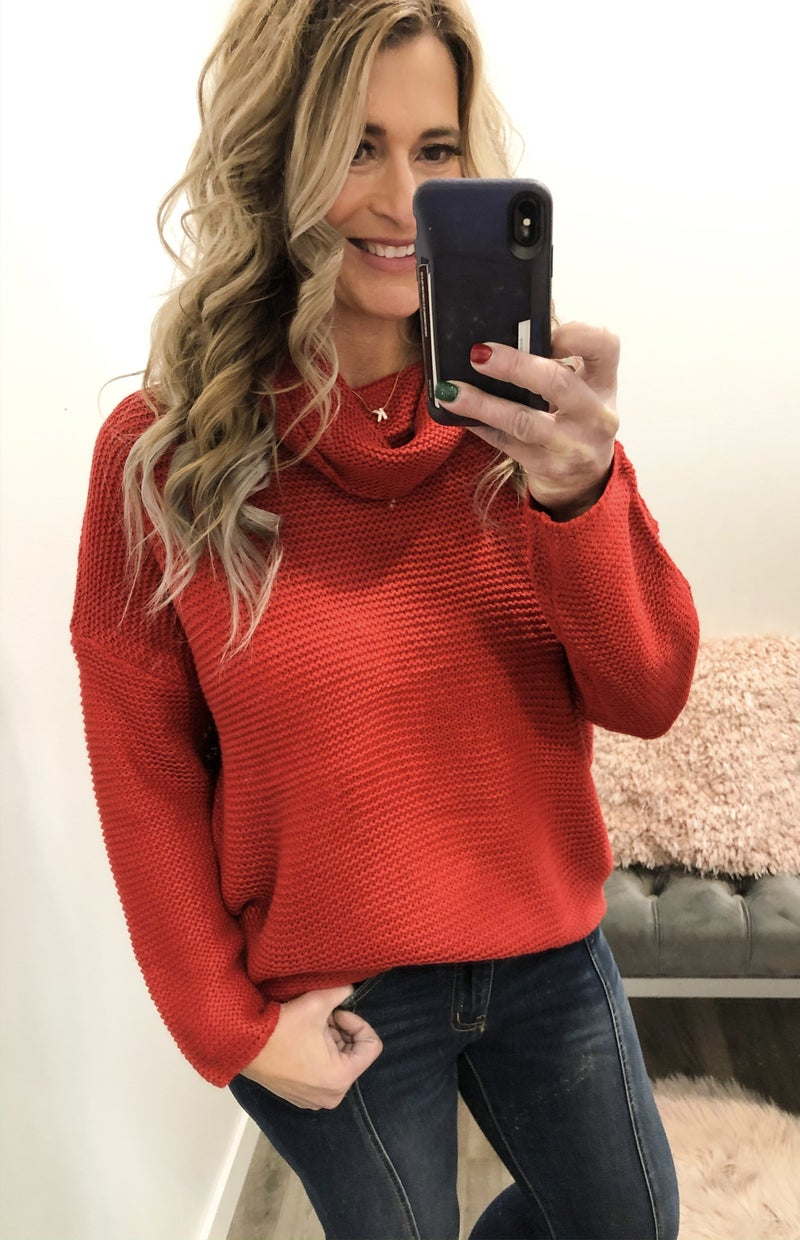 Red Tidings Sweater