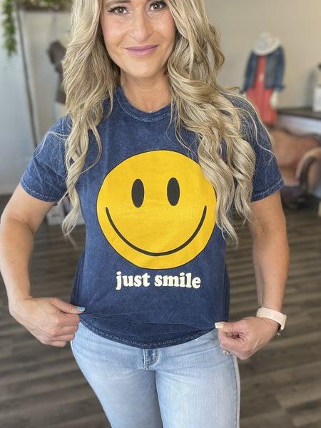 Just Smile Tee