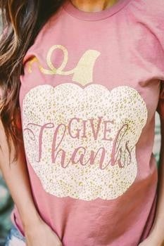 Give Thanks Tee *Final Sale*