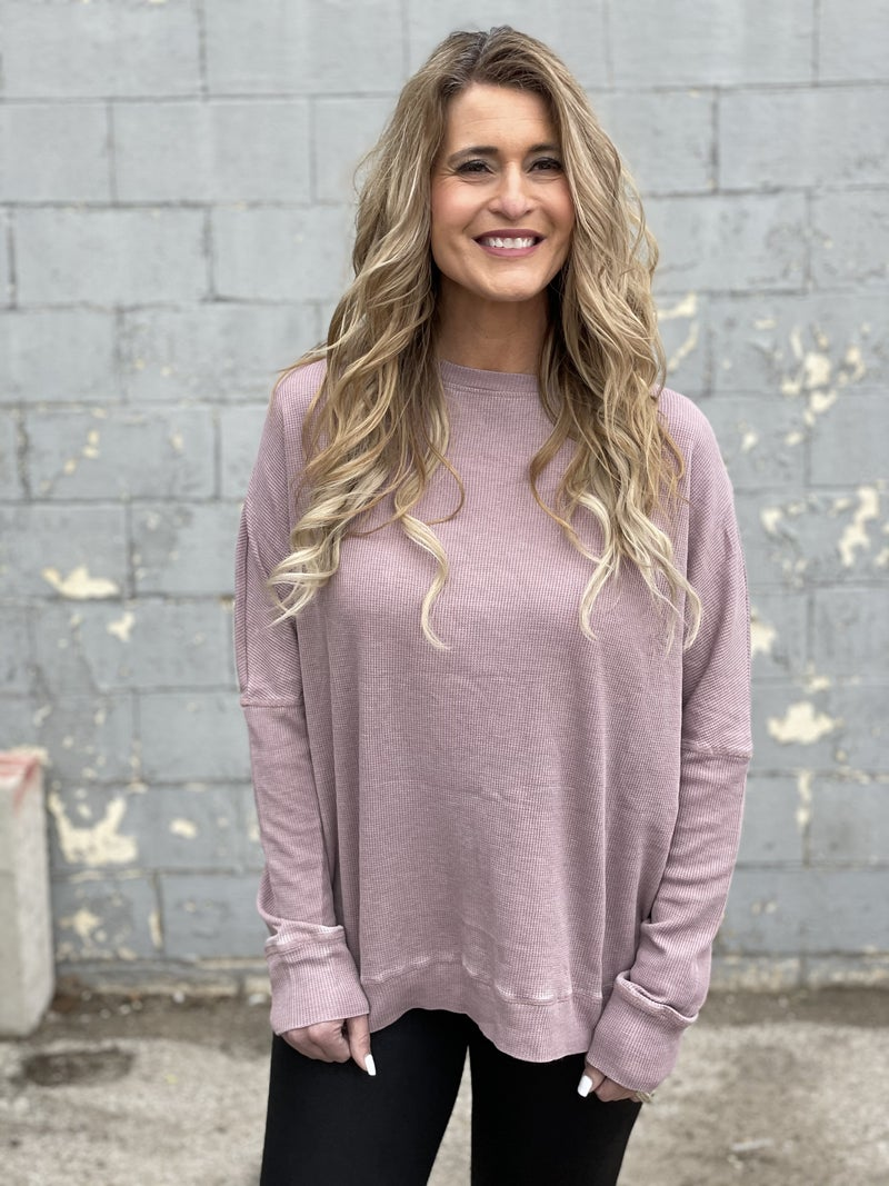 Heavenly Easy Pullover