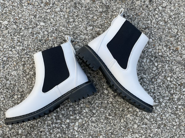 To Be Honest White Boots