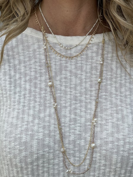It's A Pearl Thing Necklace