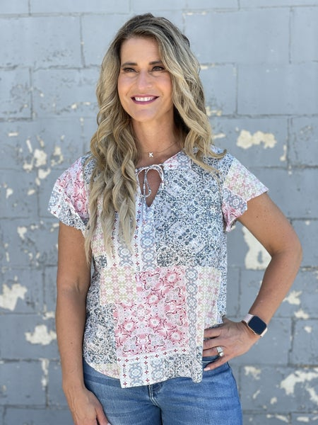 Patchwork Party Top