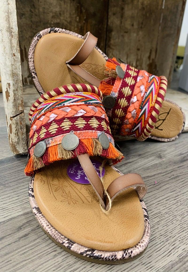 Blowfish Raelynn Sealion Sandals