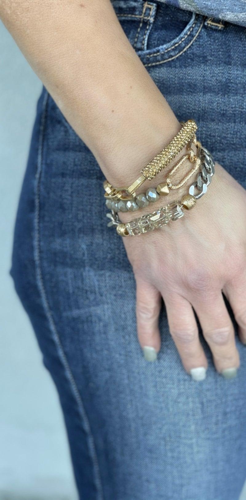 RL On The Edge Stackable Bracelet Set