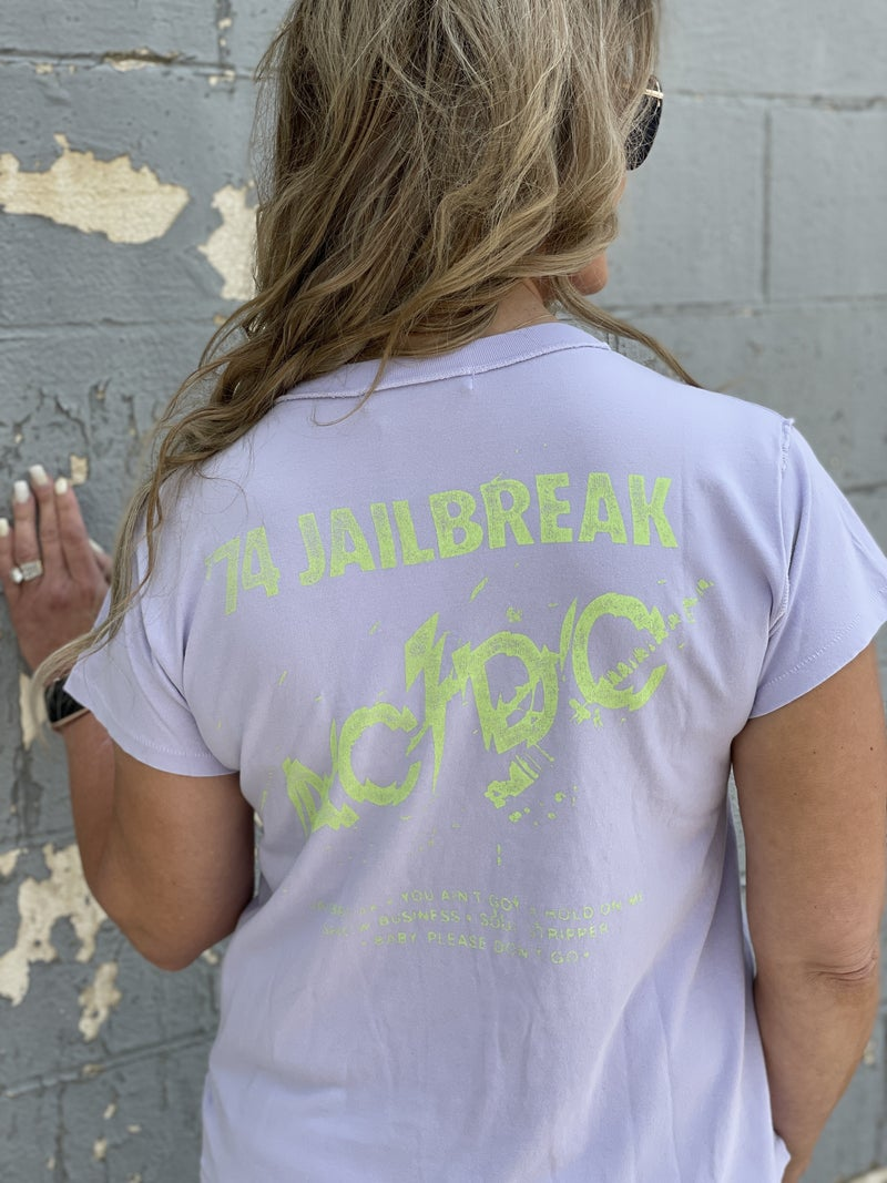 DayDreamer AC/DC Jailbreak Reverse Girlfriend Tee
