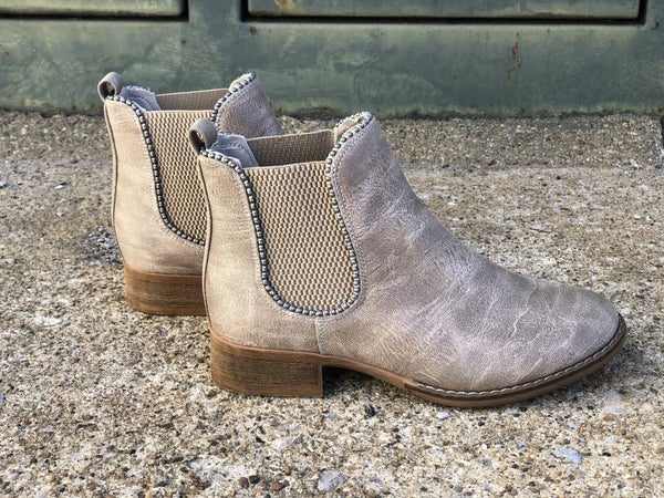 Chase Taupe Booties *Final Sale*