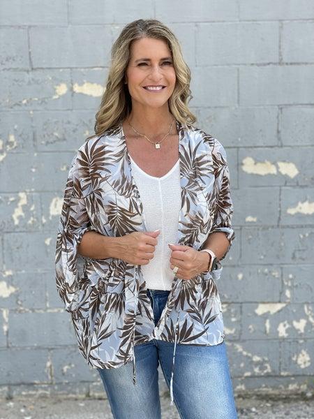 Palms Kimono Cardigan *Final Sale*