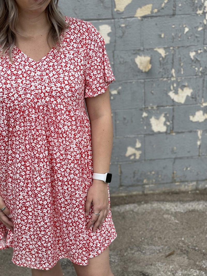 Cherry Blossom Midi Dress