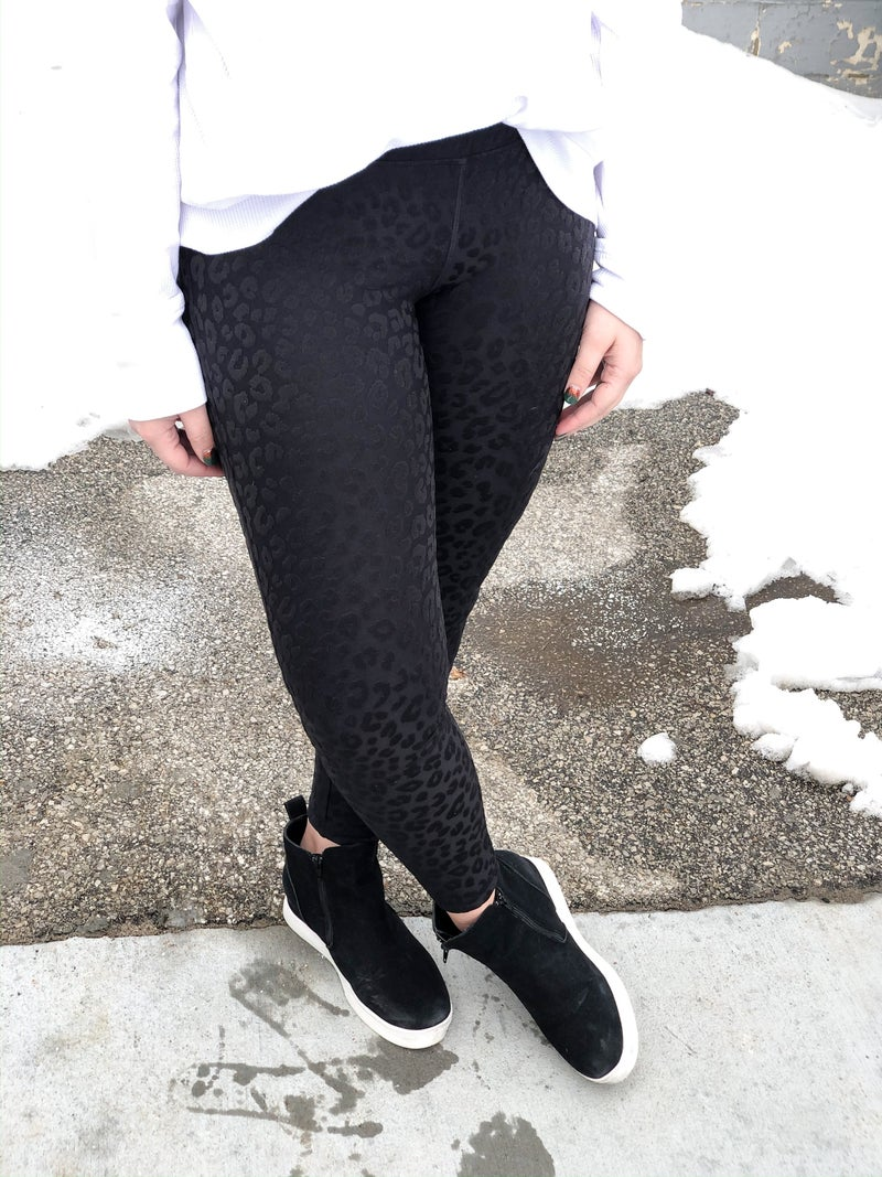 3D Animal Print  Highwaist Leggings