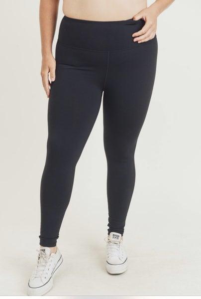 Curvy Can't Go Wrong Black Leggings