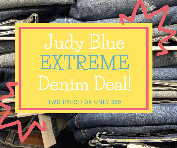 Judy Blue EXTREME Denim Deal *Final Sale*