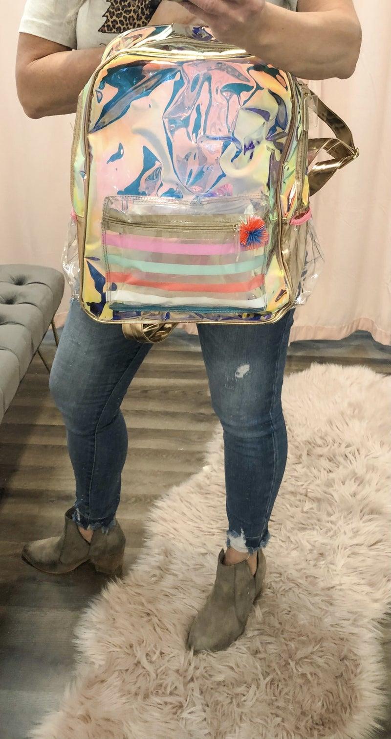 Iridescent Backpack