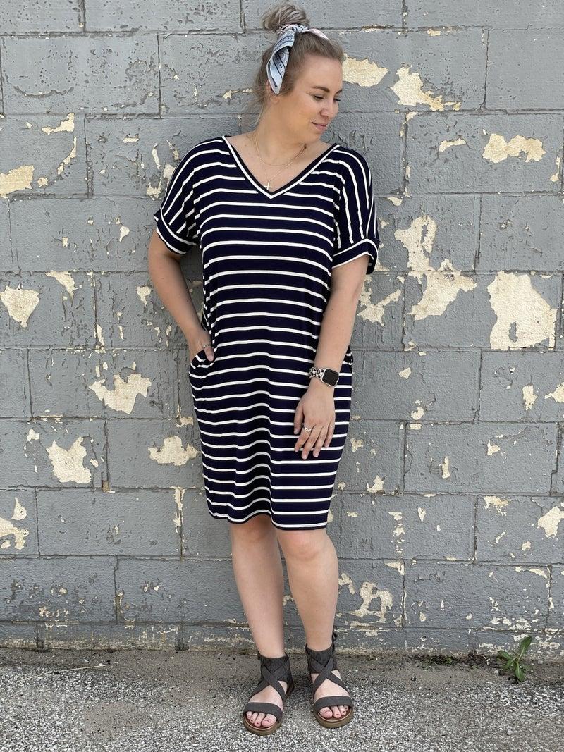 Navy Skies Dress