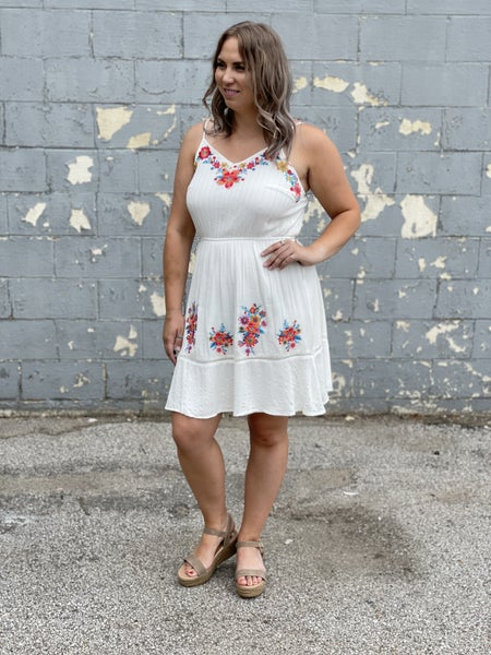 Ivory Garden Dress