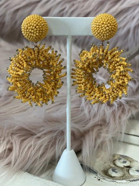 Coral Reef  Pizazz Earrings