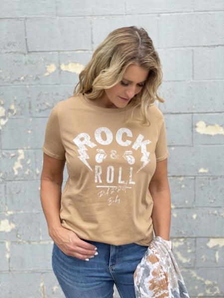 Coffee Rock & Rock Graphic Tee