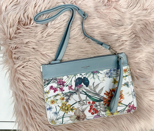 Fresh Floral Clutch Crossbody *Final Sale*