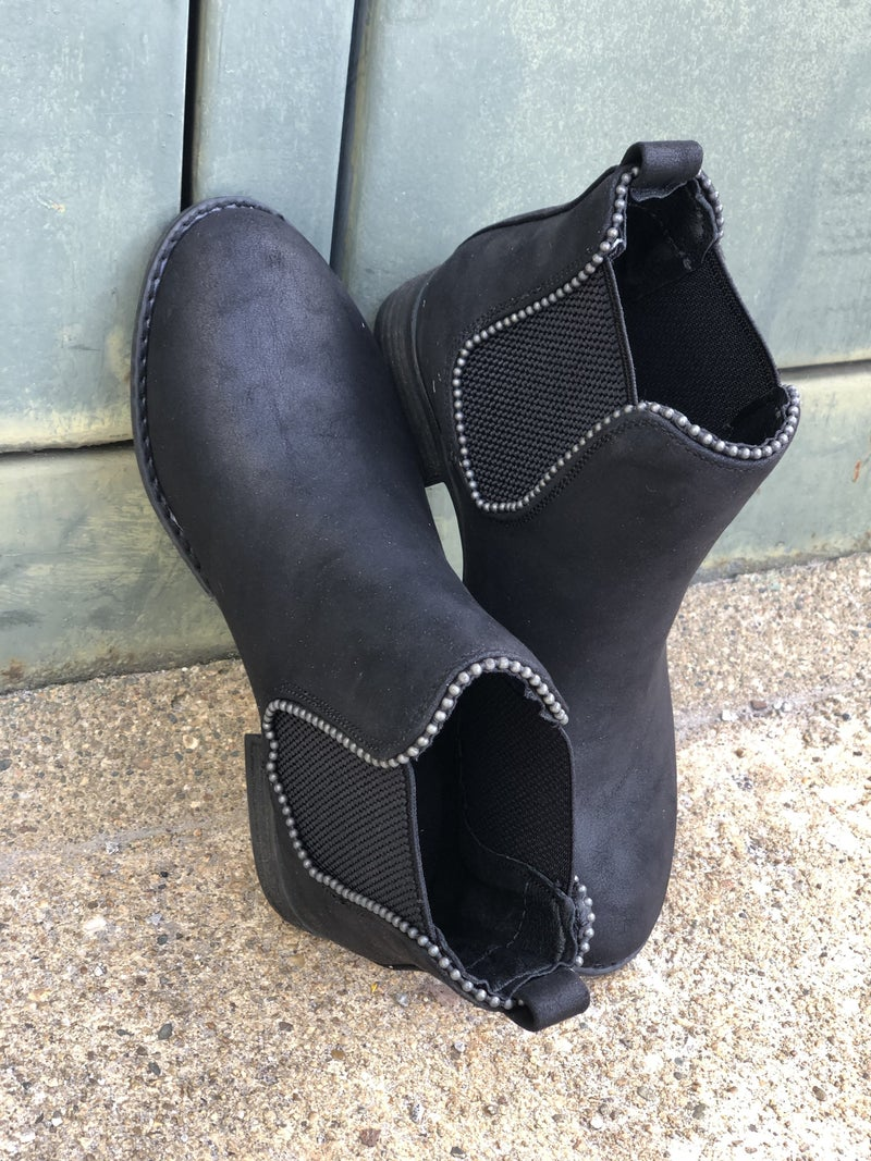 Chase Black Booties *Final Sale*