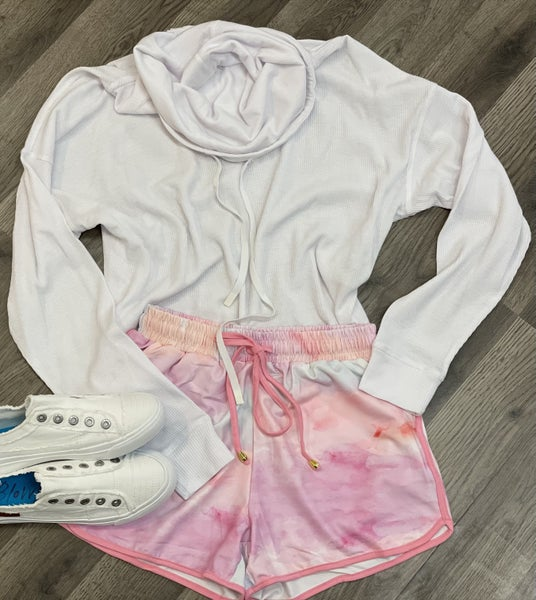 Pastel Blast Athletic Shorts