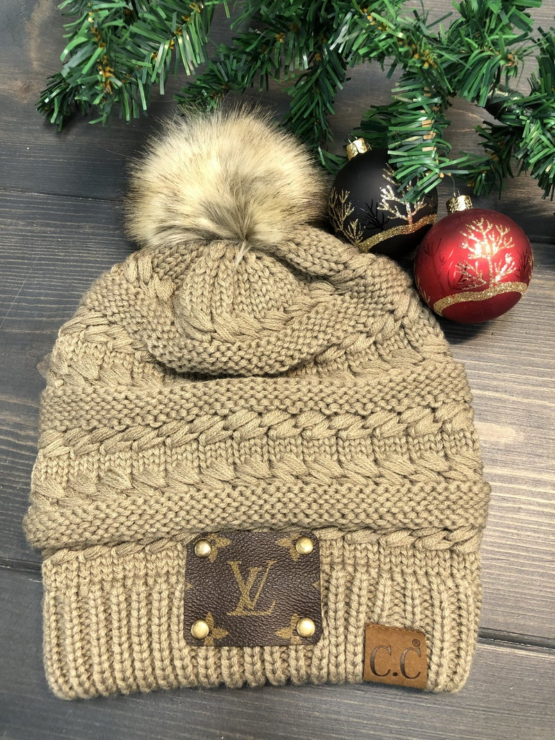Upcycled Stocking Cap *Final Sale*