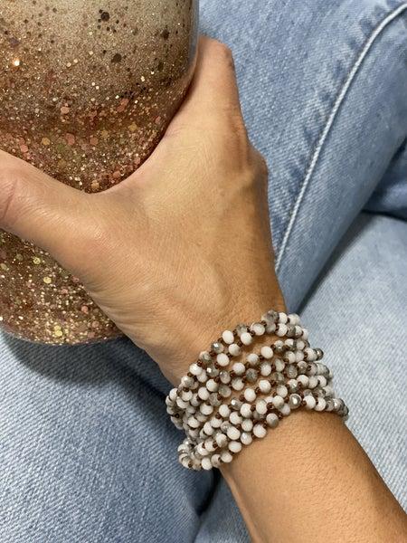 Many Ways Mini-Beaded Necklace Bracelet