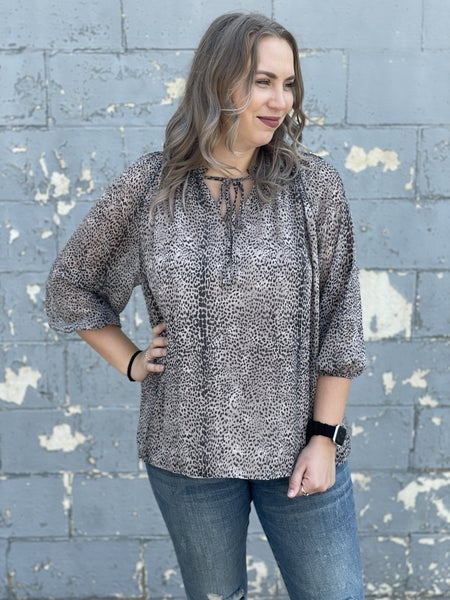 Curvy Animal Occasions Top