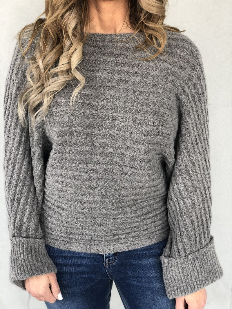 Grey Clouds Sweater