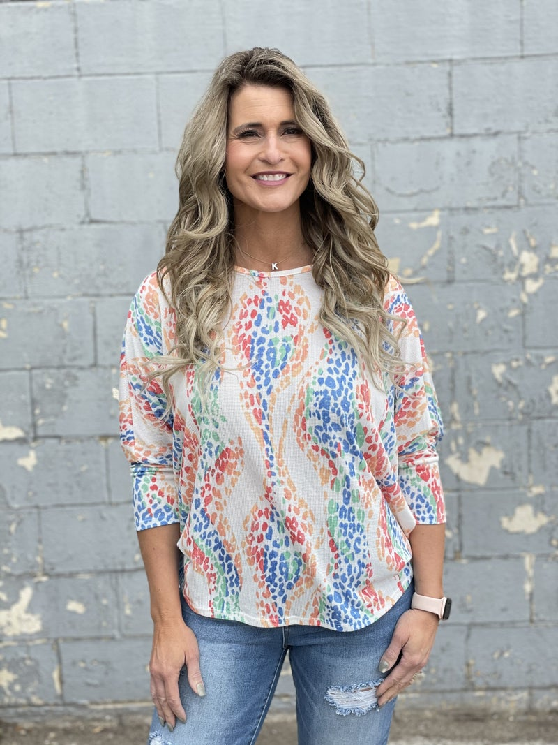 Bright Side Animal Top