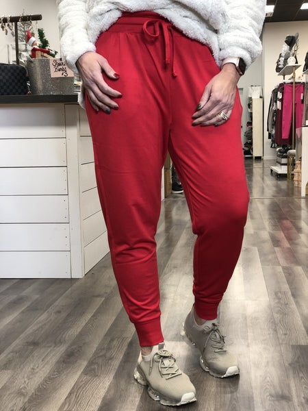 Favorite Jogger Red