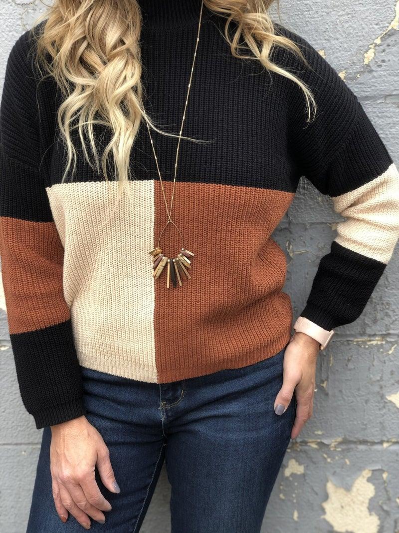 Coffee, Cream and Sugar Sweater