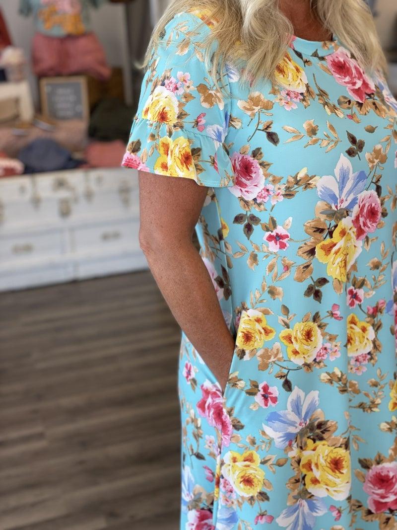 Minty Garden Festival Dress