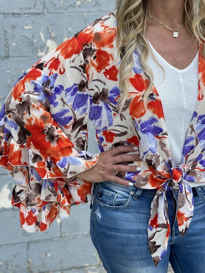 Floral Flare Kimono *Final Sale*