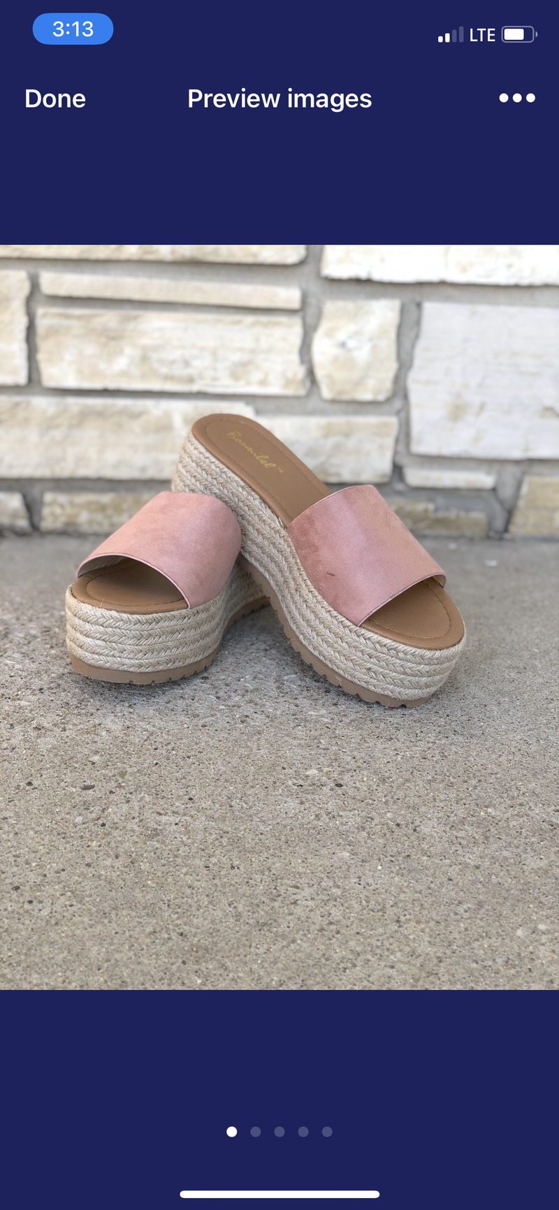 The Grace Platform Sandal