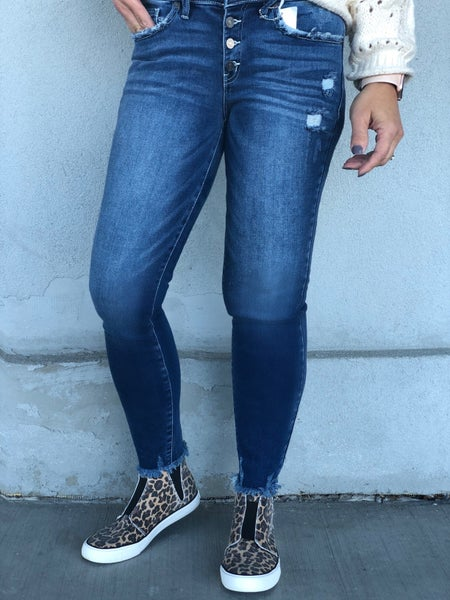 Bethany KanCan Button Front 59D Jeans