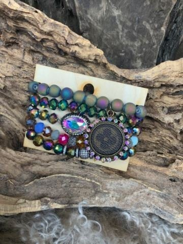 A Little Pop Stack Bracelet - Multi PREORDER