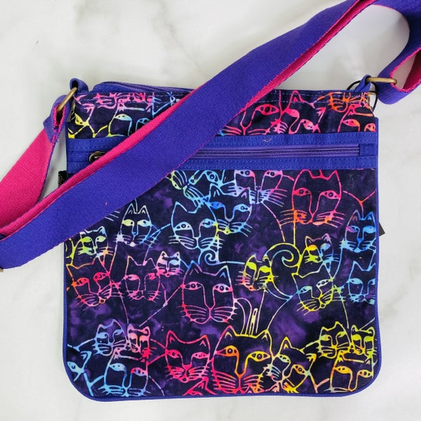 Colorful Cats Crossbody