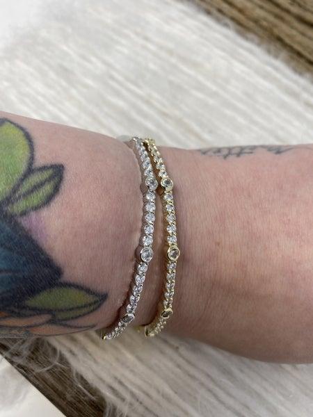 VCA Dazzle Bangle Bracelet