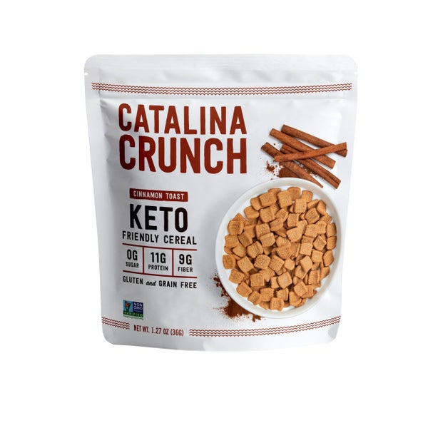 Keto Friendly Cereal 1.3oz Snack Size Bag