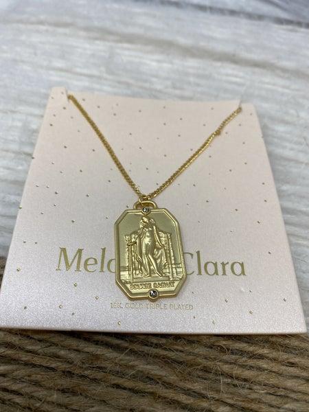 Melania Clara Meadow Antique French Necklace