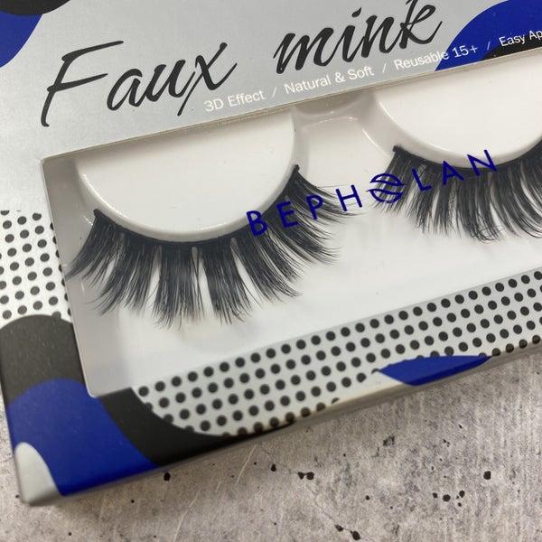 Delilah Faux Mink 3D Effect Lashes 3 Pack